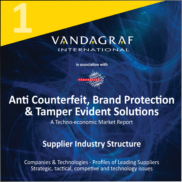 Vanadgraf International - Brand Protection / Anti-counterfeit - Markets and Technologies