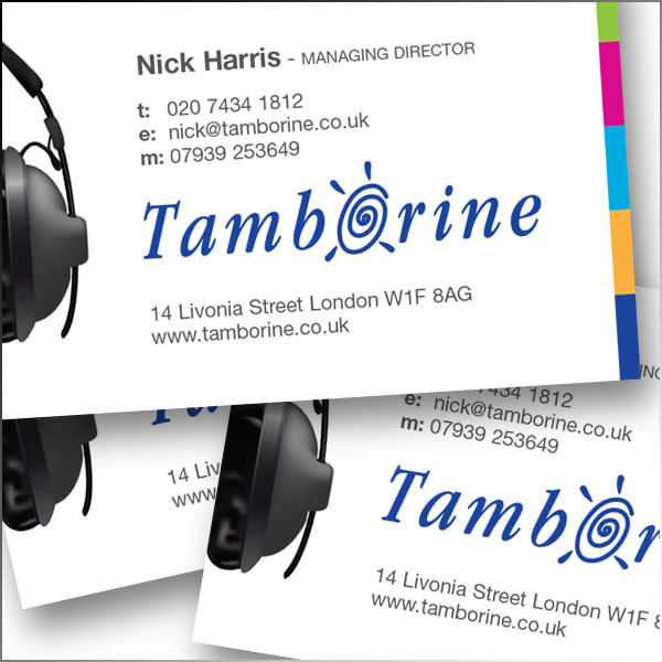 Tamborine - one of the UK's leading audio post-production and voice recording studios.