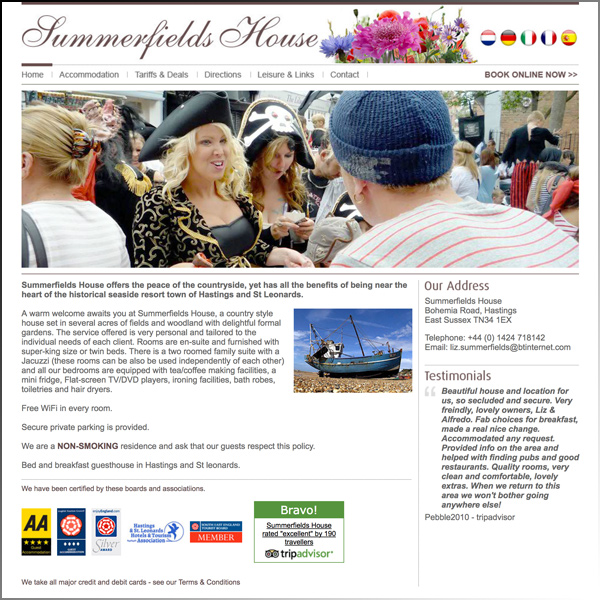 Summerfields Guest House, Hastings
