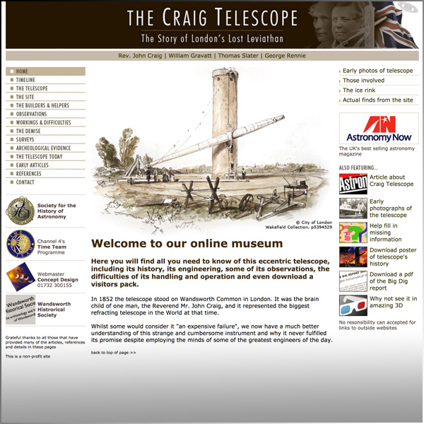 Craig Telescope Project
